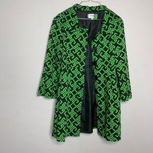 Skirting Around Bell sleeve jacket